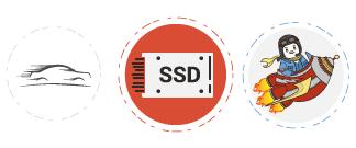 Nhanh hơn với ổ cứng SSD