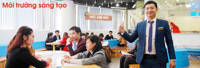 Tuyển dụng nhân viên kinh doanh tại Hà Nội